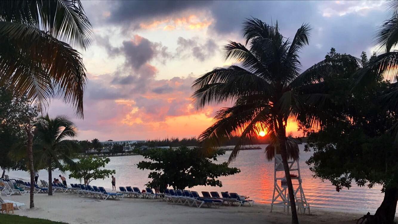 Riu resort Montego Bay, Jamaica  by DeAnna