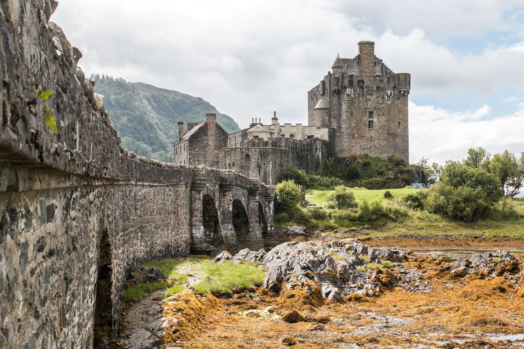 Eilean Donan Castle  by Scott Hackney