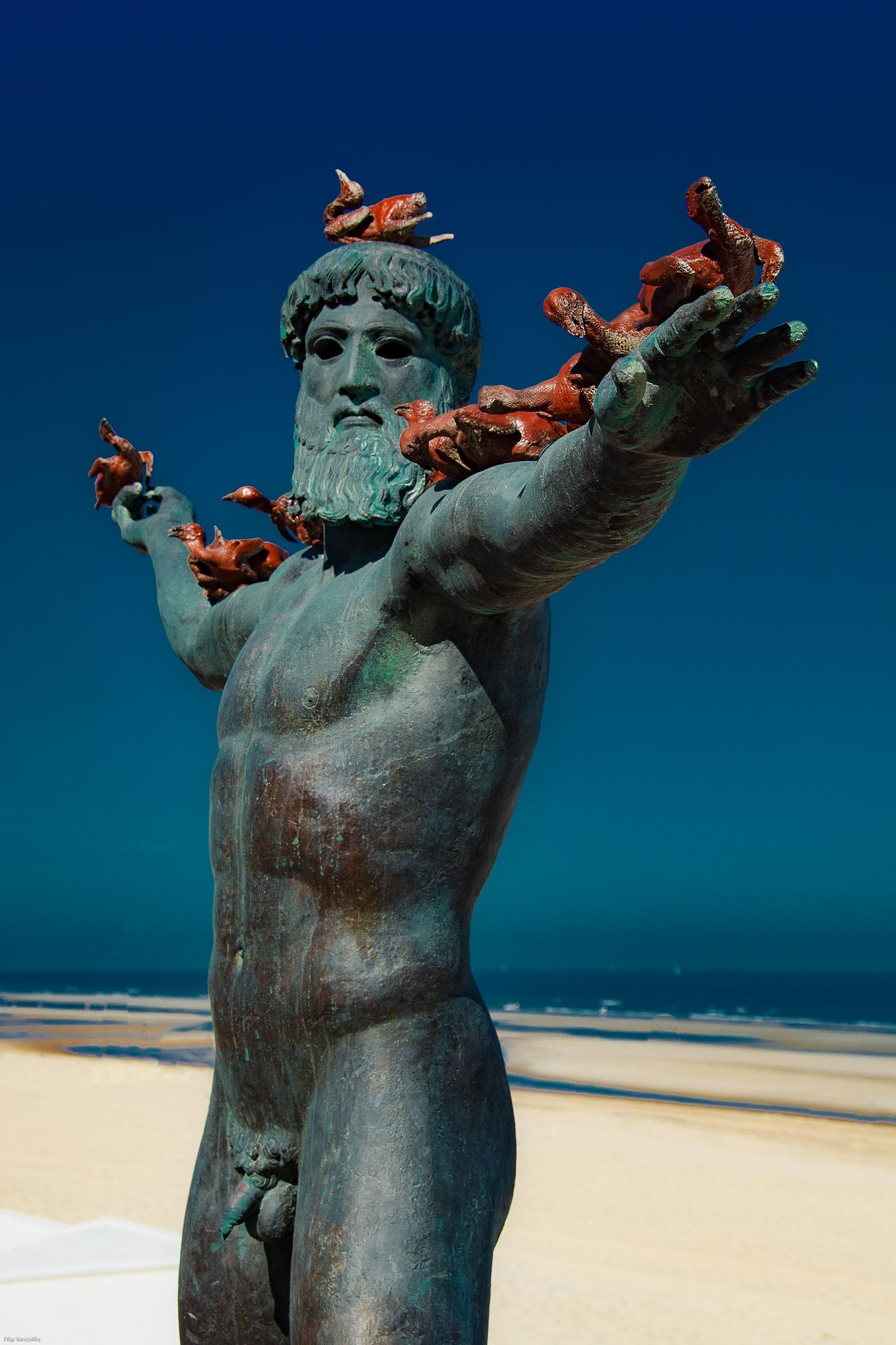 Sculptures@sea De Haan by vancoilliefilip