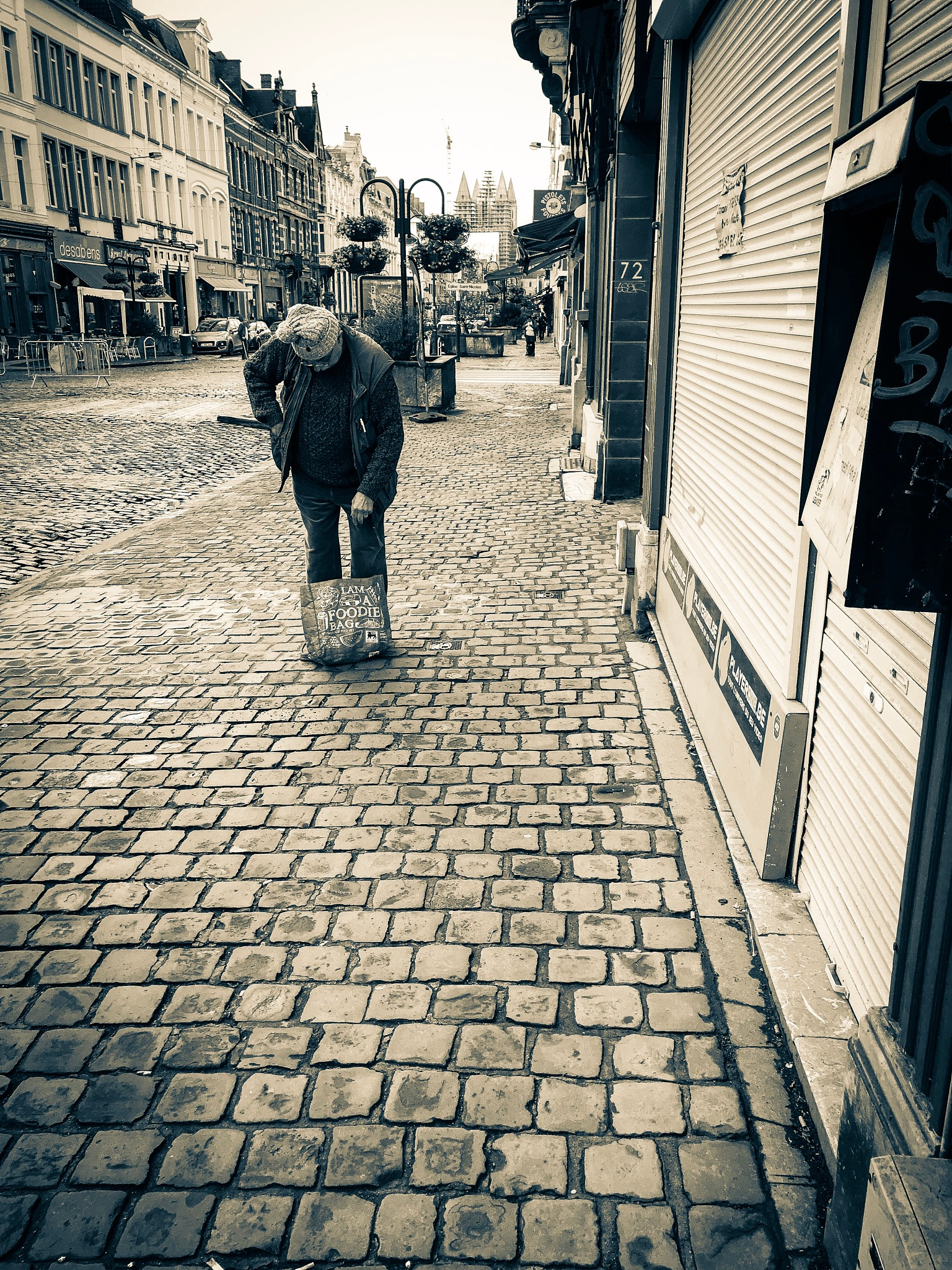On the way to the market by frankymespouille
