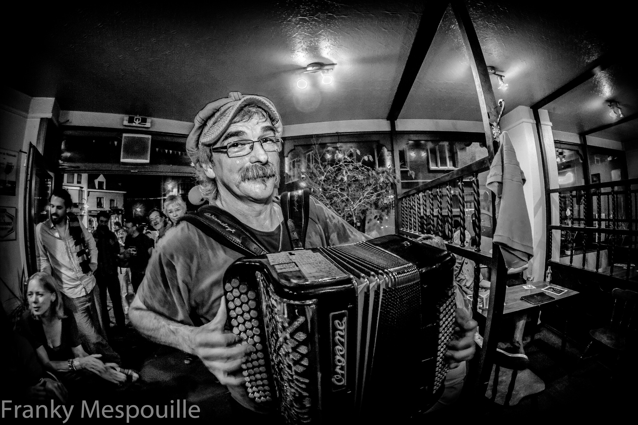 The accordionist by frankymespouille