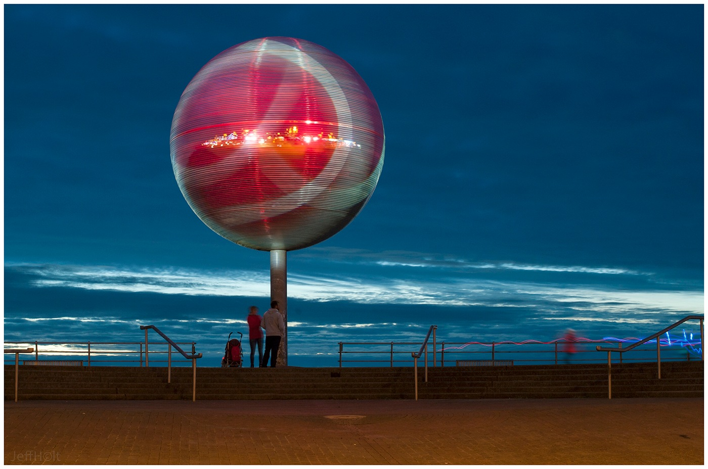 The Iconic Blackpool Mirrorball by Jeff Holt