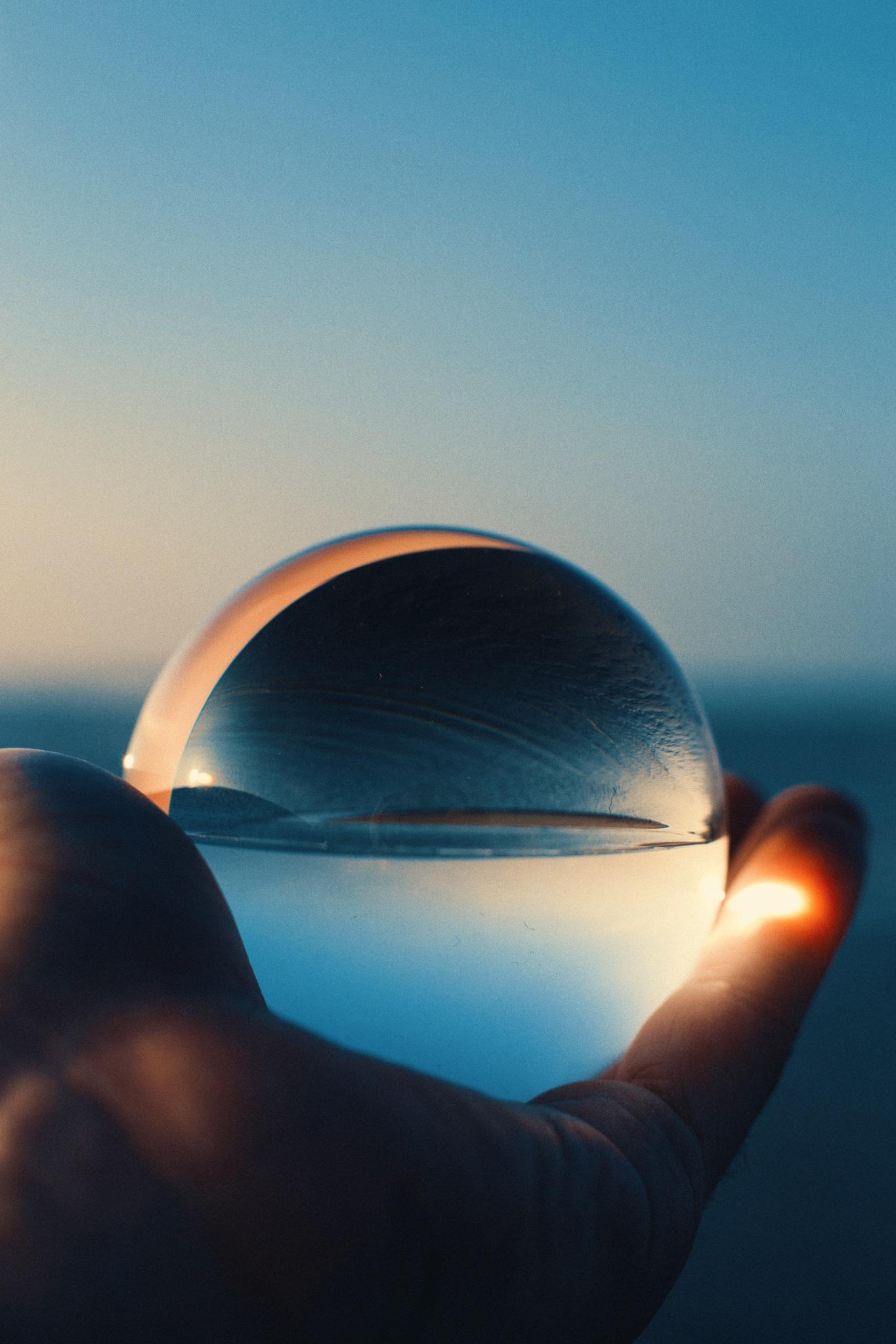 lensball by Anton Naumkin