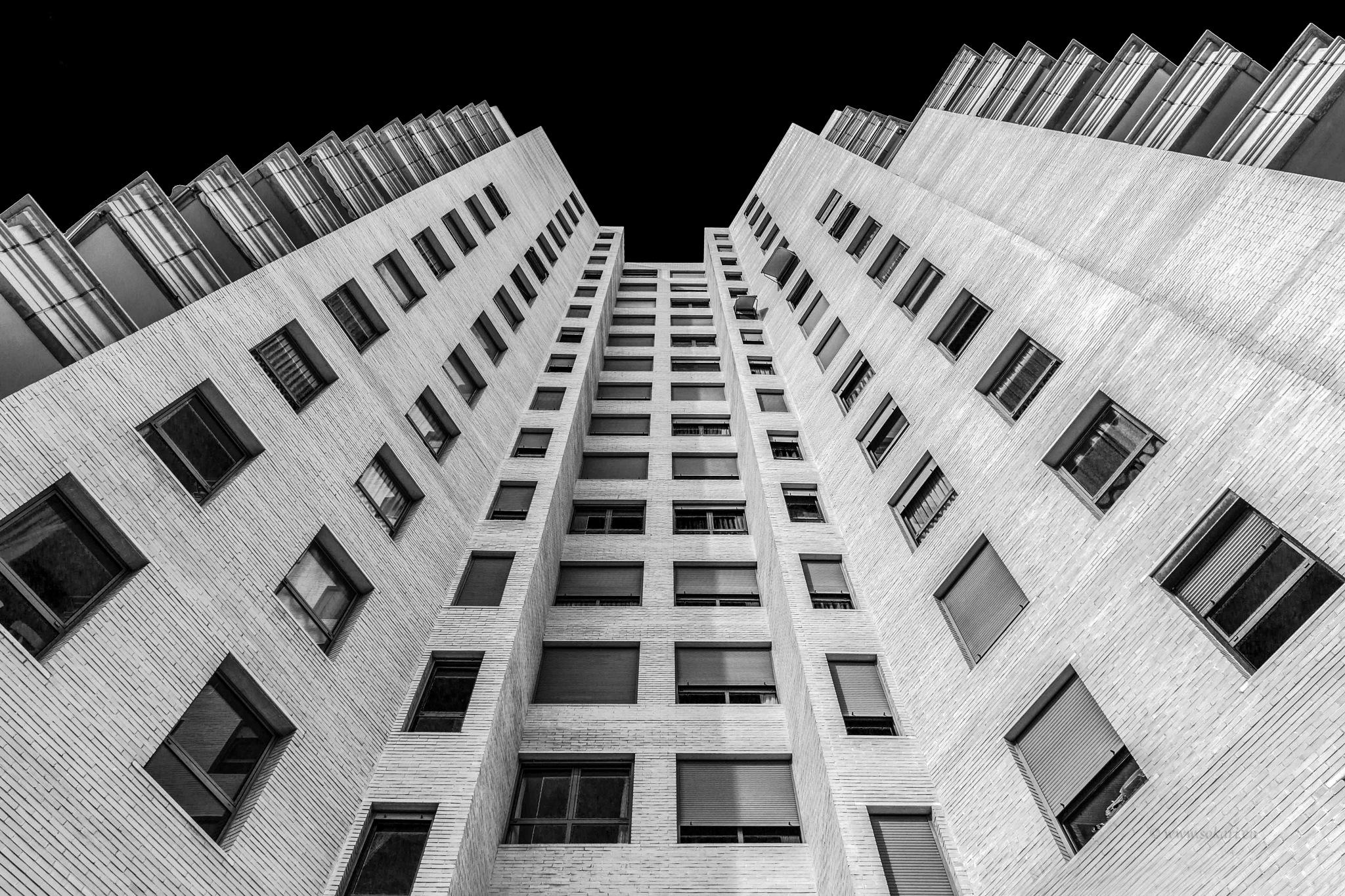Apartment Block by sokarieu