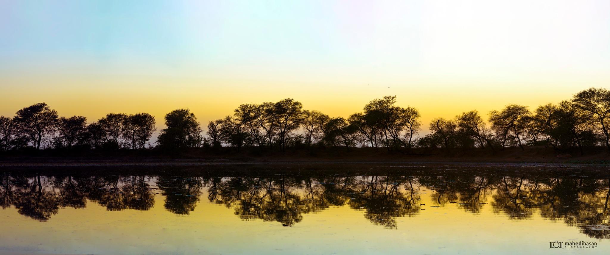 Khijadiya Lake by Mahedihasan Matiya
