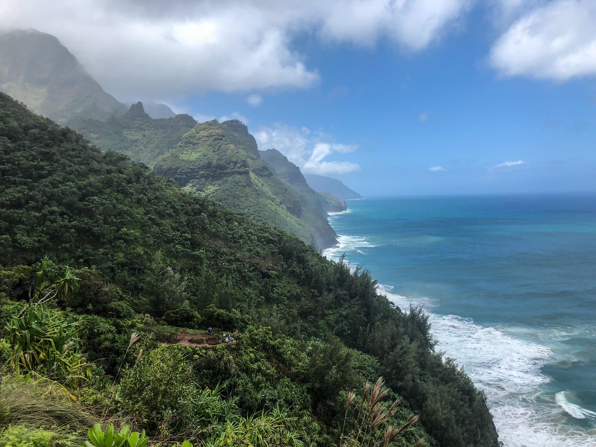 Hawaii Coast line by Krishna Murukutla