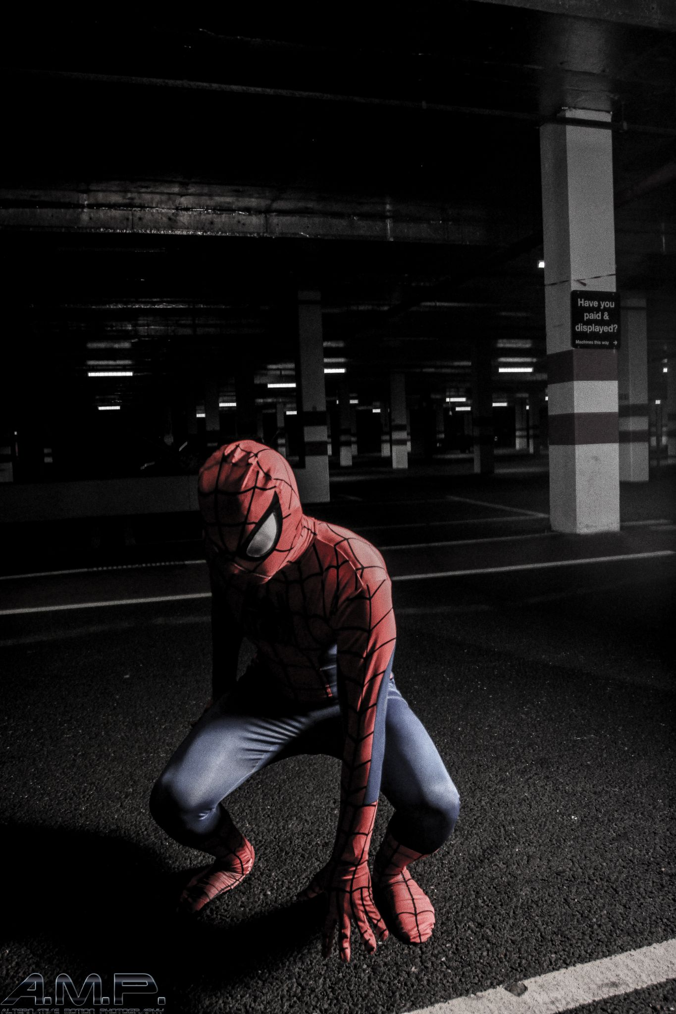 Spider-Man - Daniel Legge  by aceashun