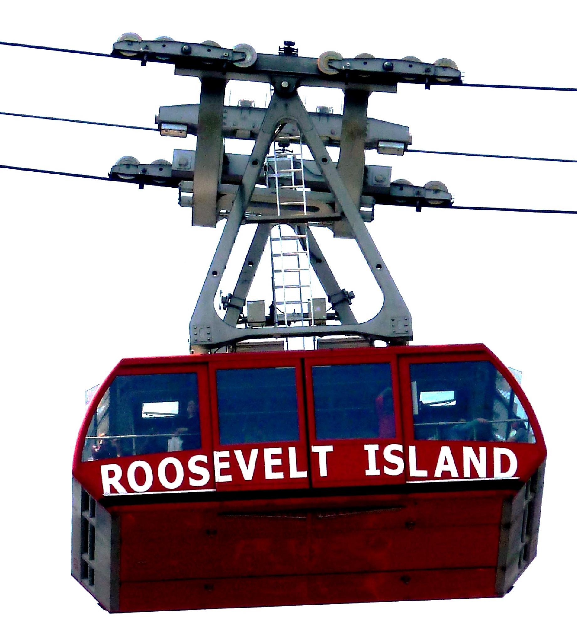 Roosevelt Island Tramway, NYC by Anton Agalbato
