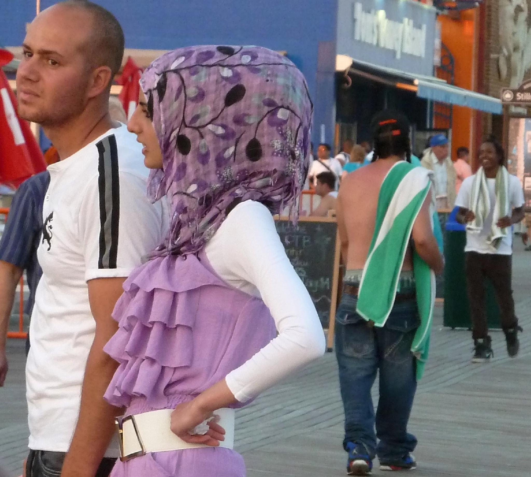 Coney Island Catwalk. Leisurewear for men and women. by Anton Agalbato