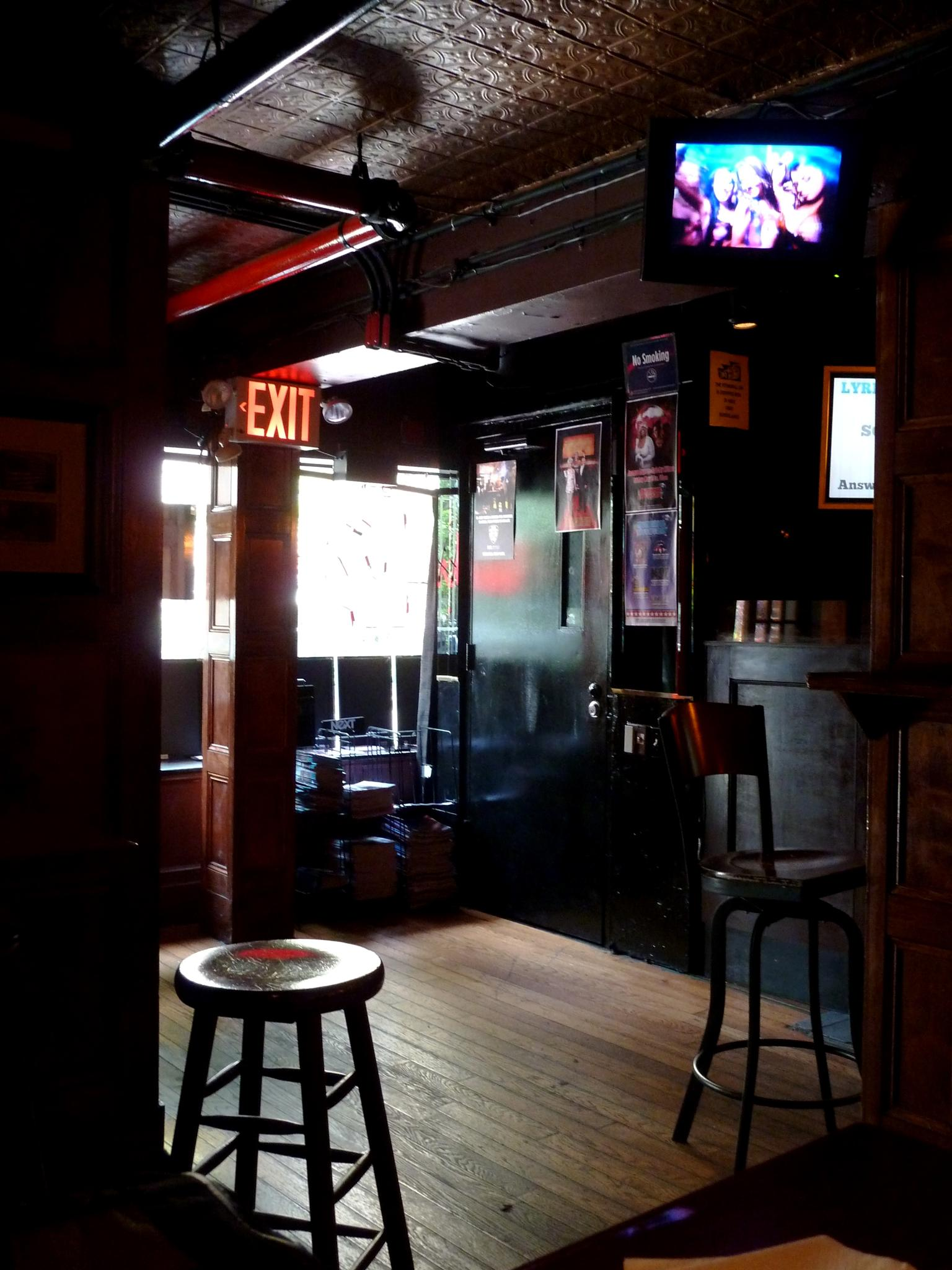 Interior, The Stonewall Inn, NYC by Anton Agalbato