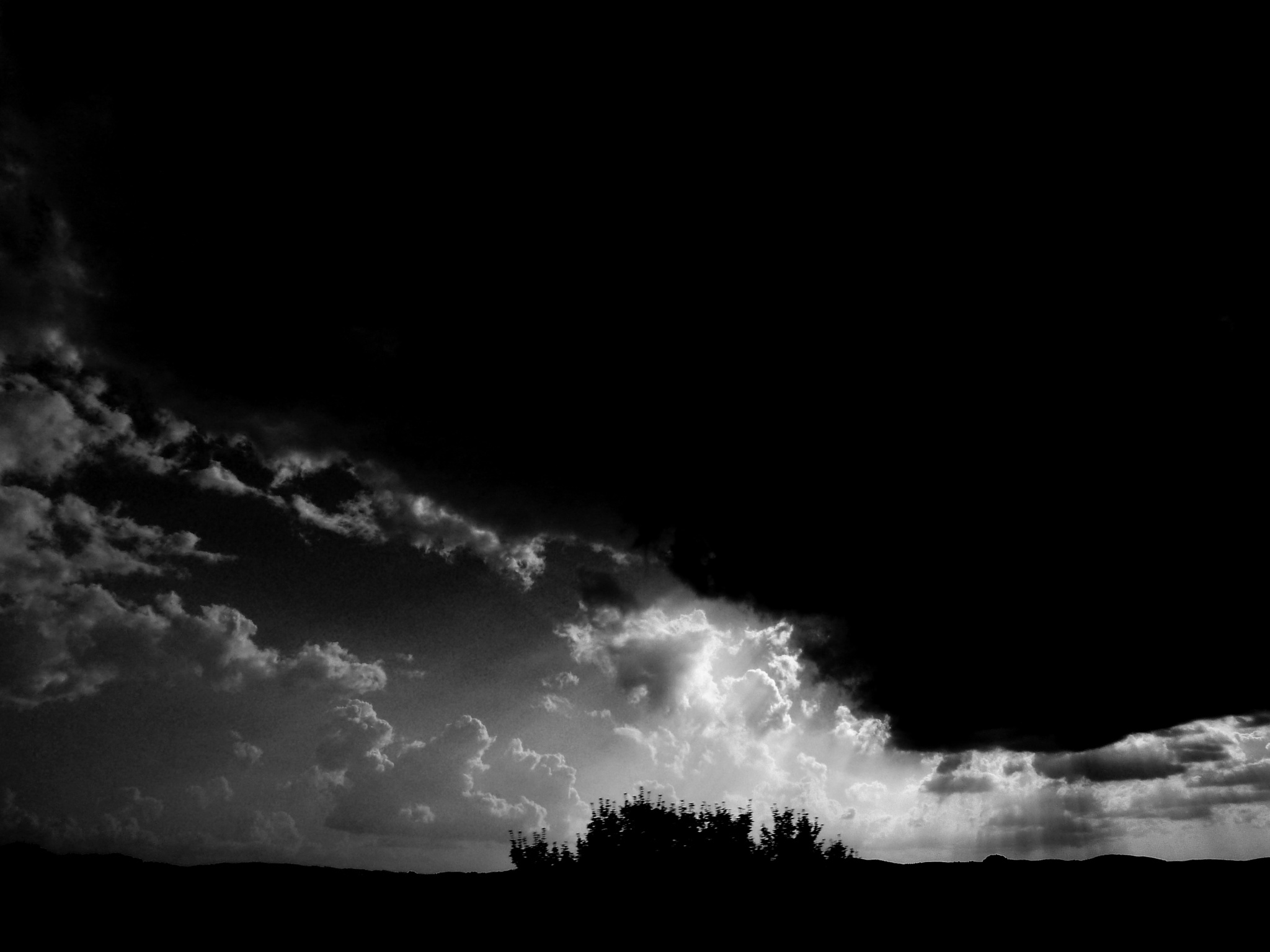 Skyscape (B&W) by Anton Agalbato
