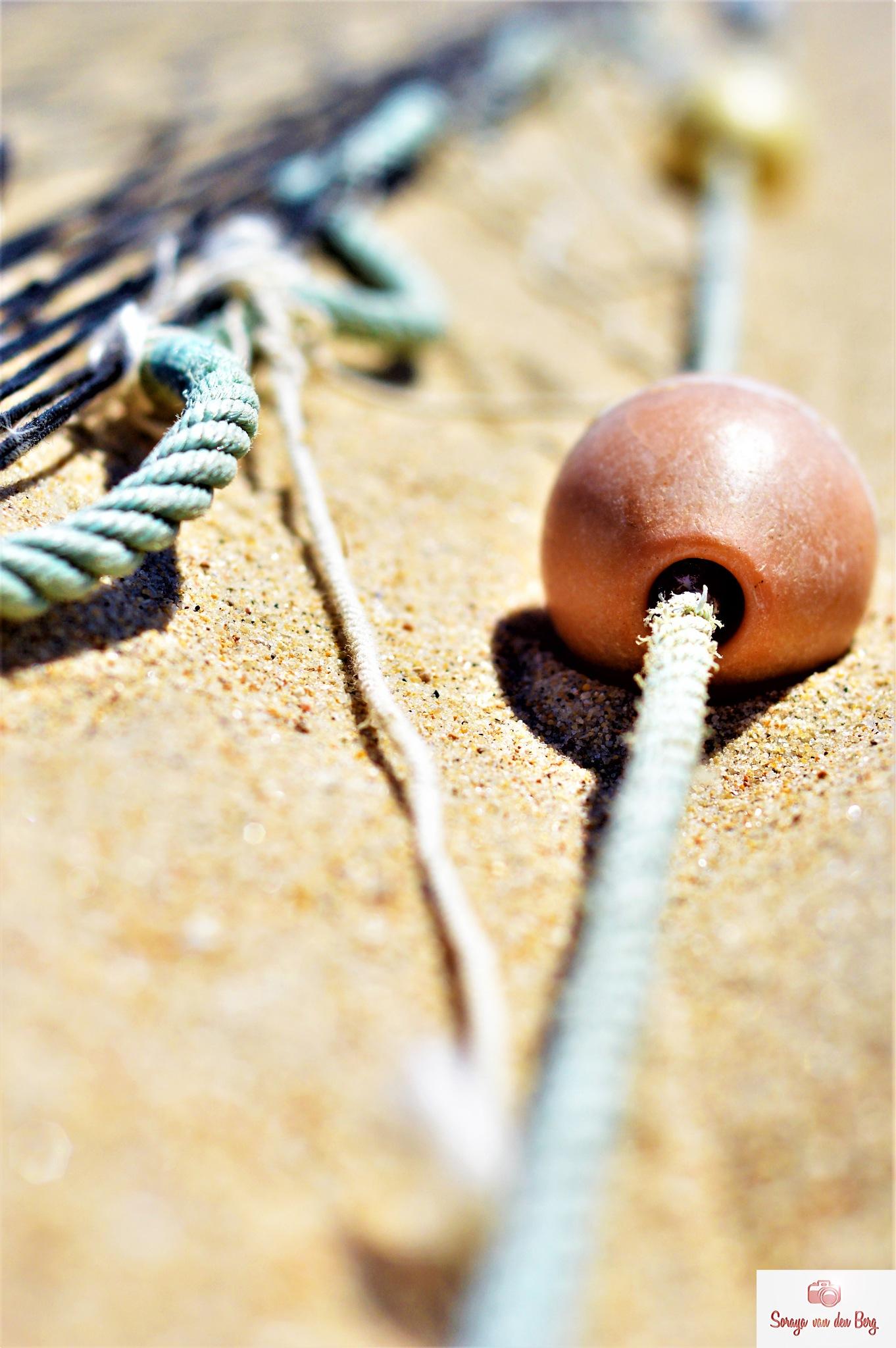 beach fishing line by SorayavdB