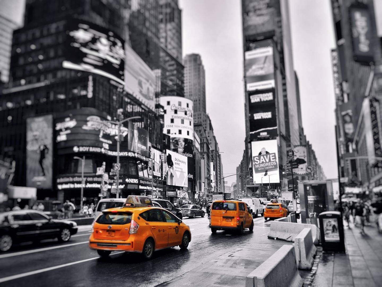 taxi trio by Gil Nemoy
