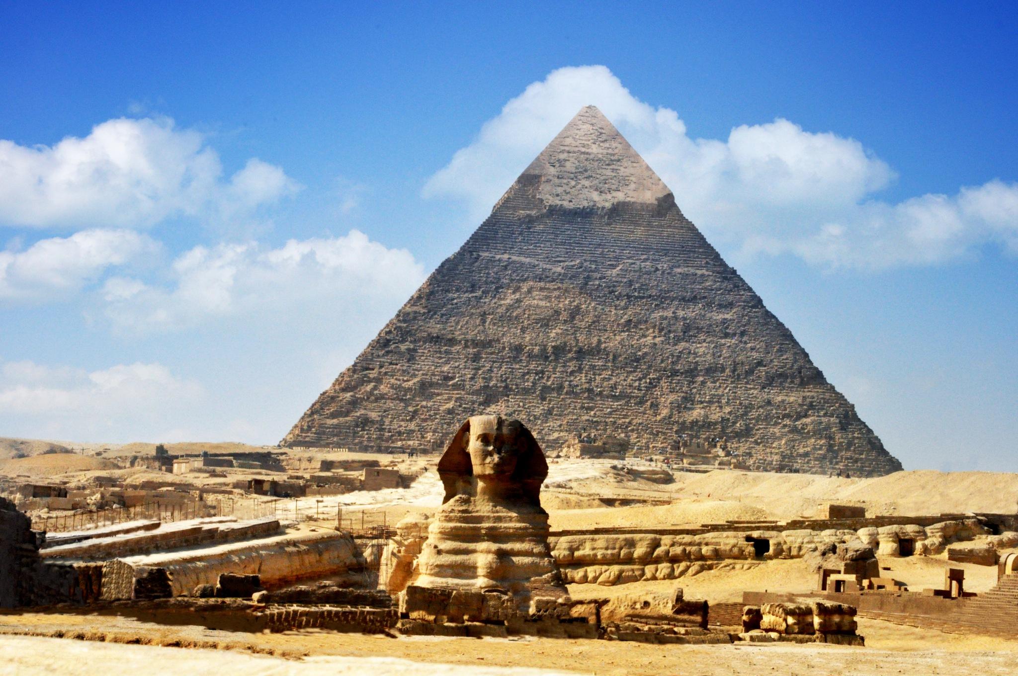 Pyramid  by Joy Joseph