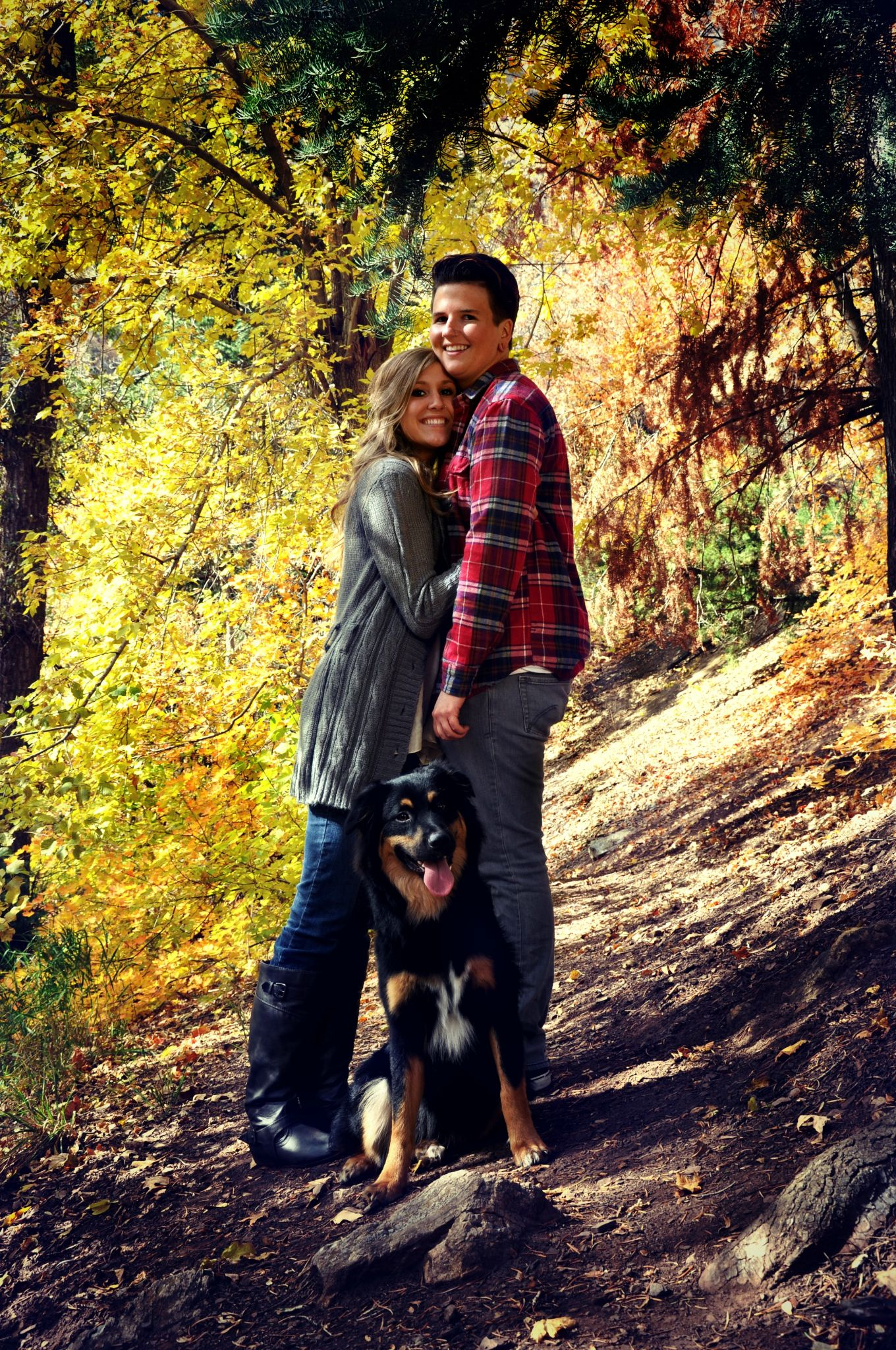 Family Hike by Sara Tiger