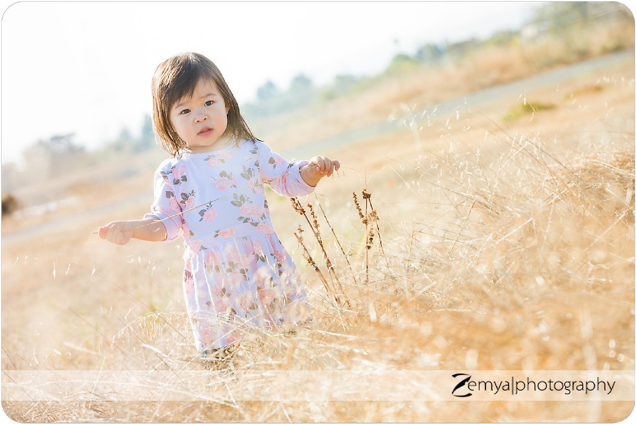 San Mateo child photography by Zemya Photography