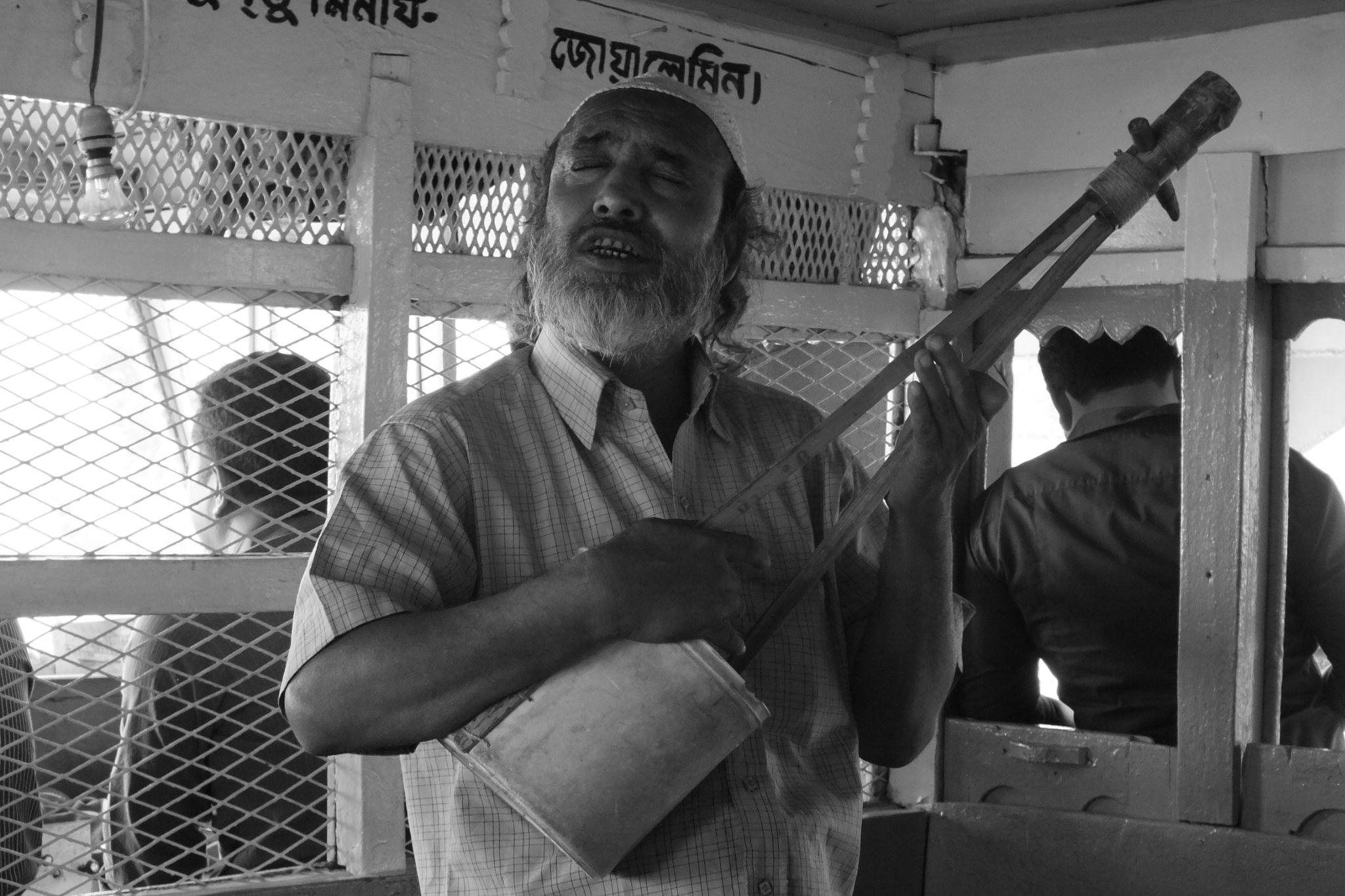 Blind Street Singer by M Azharul Islam