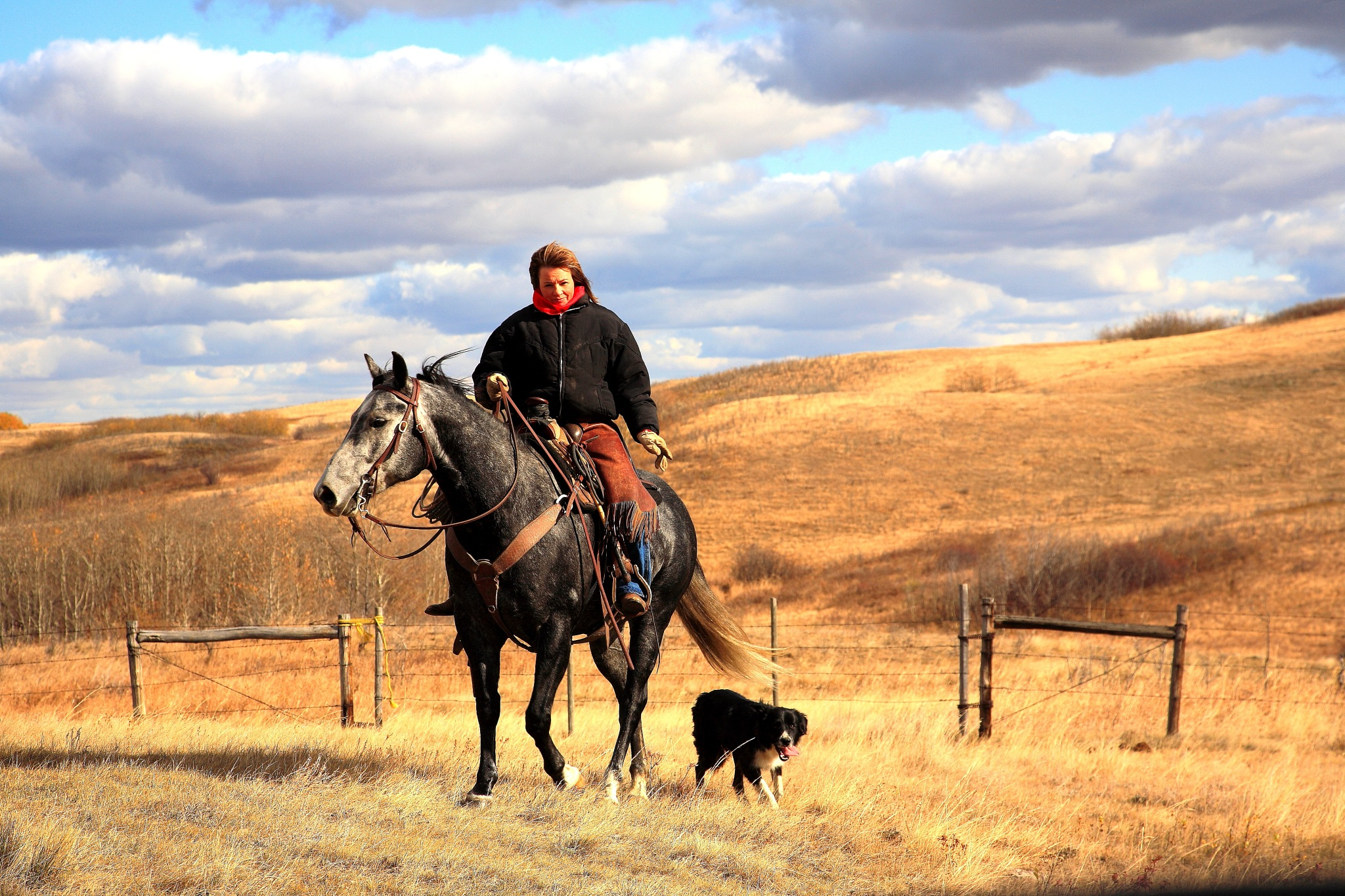 Northern Alberta on the range by Miloliidrifter