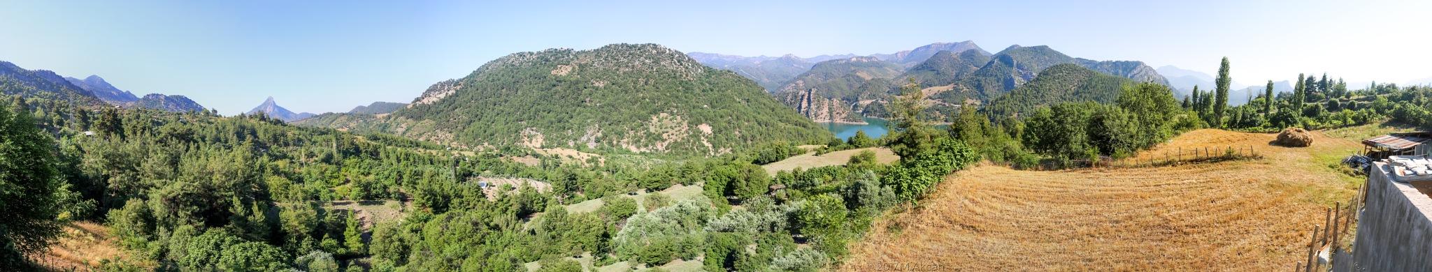 Akkaya Panorama by Mesut Akcan