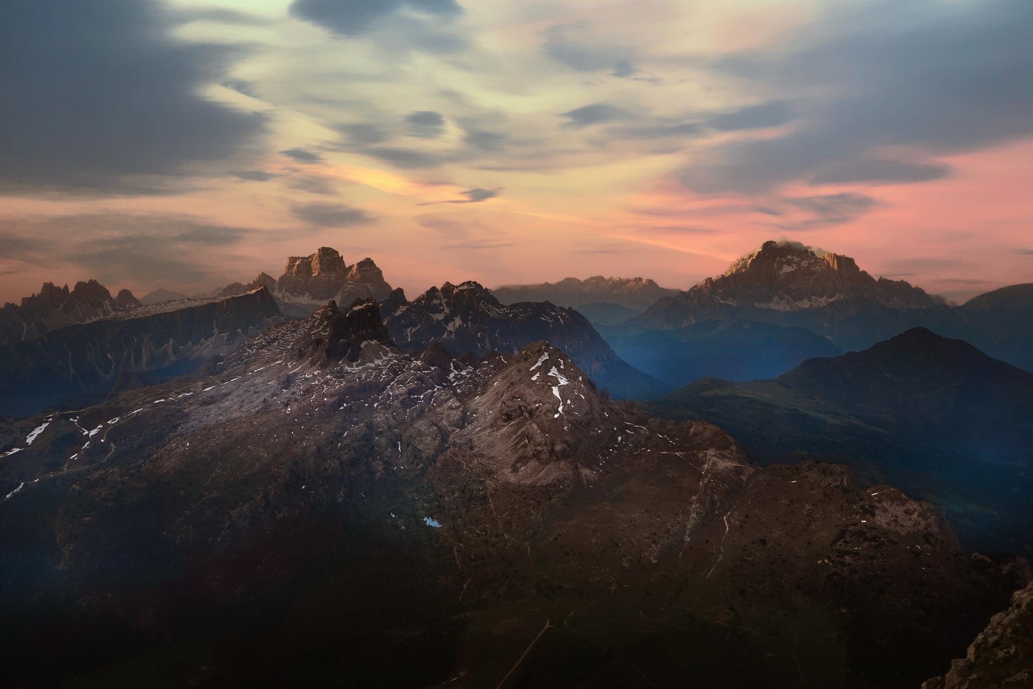 Panorama dal Lagazuoi by MarkSoetebierVideophotography