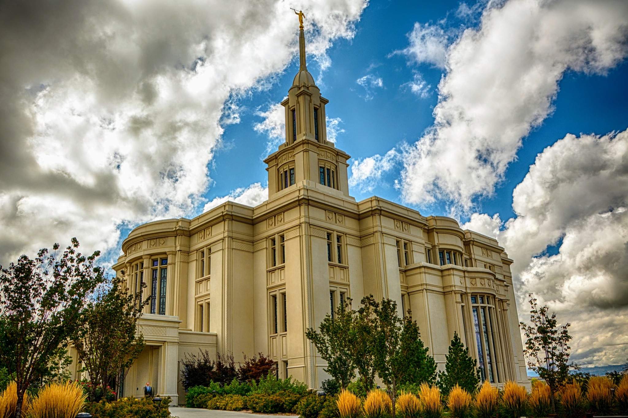 Mormon Temple, Salt Lake City, UT  by Simon Dadouche