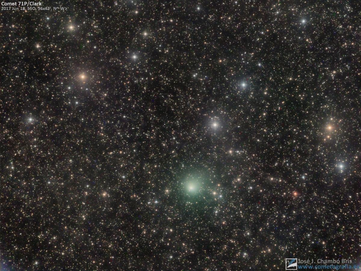 Comet 71P/Clark  by José J. Chambó
