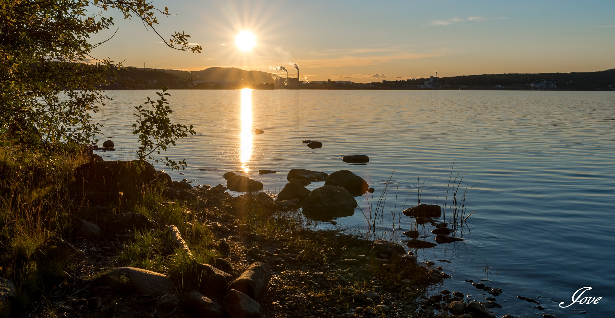 Beautiful sunset at alne by Jan-Ove Nordin