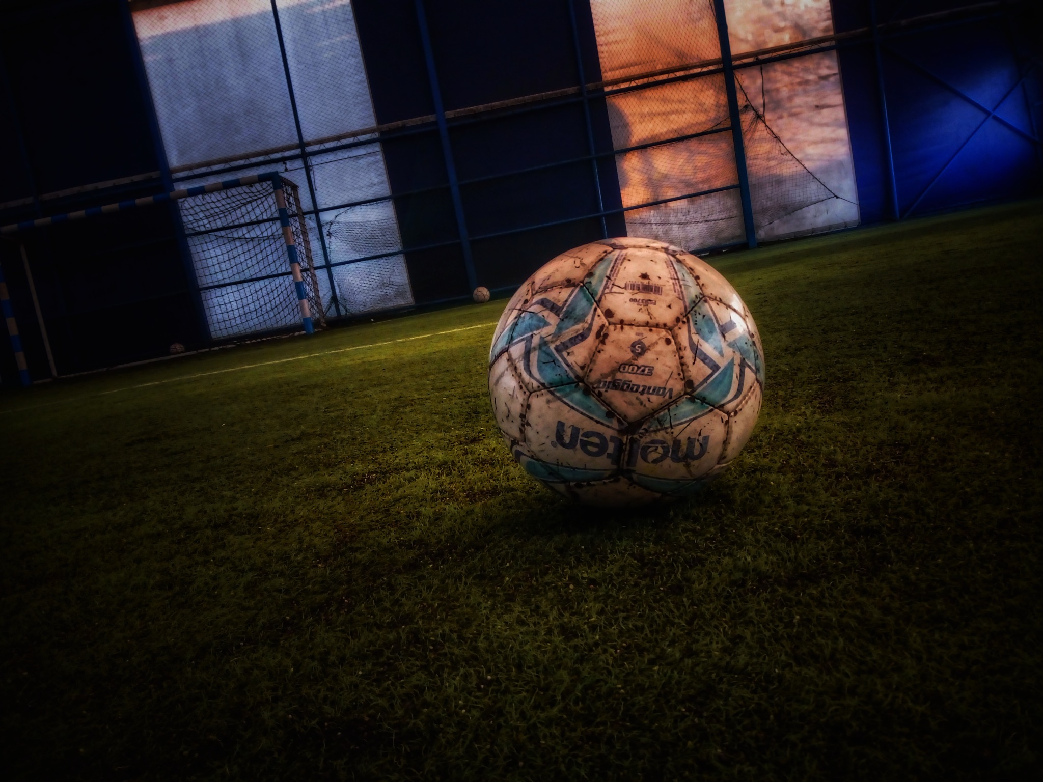 soccer ball by Astrit Morina