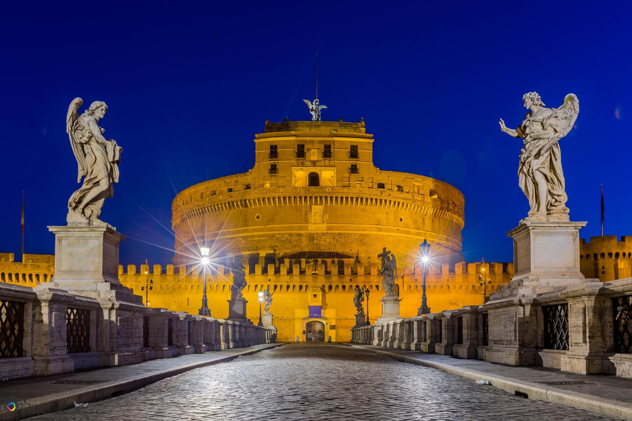 Castel Sant'Angelo by Geir Christensen