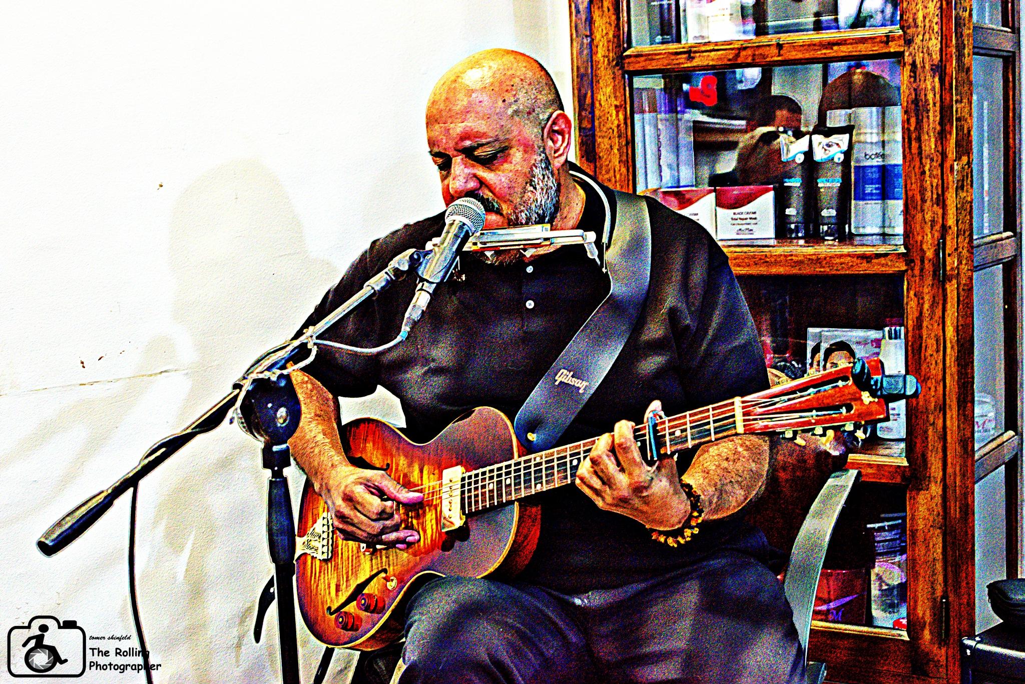 blues man by tomer shinfeld