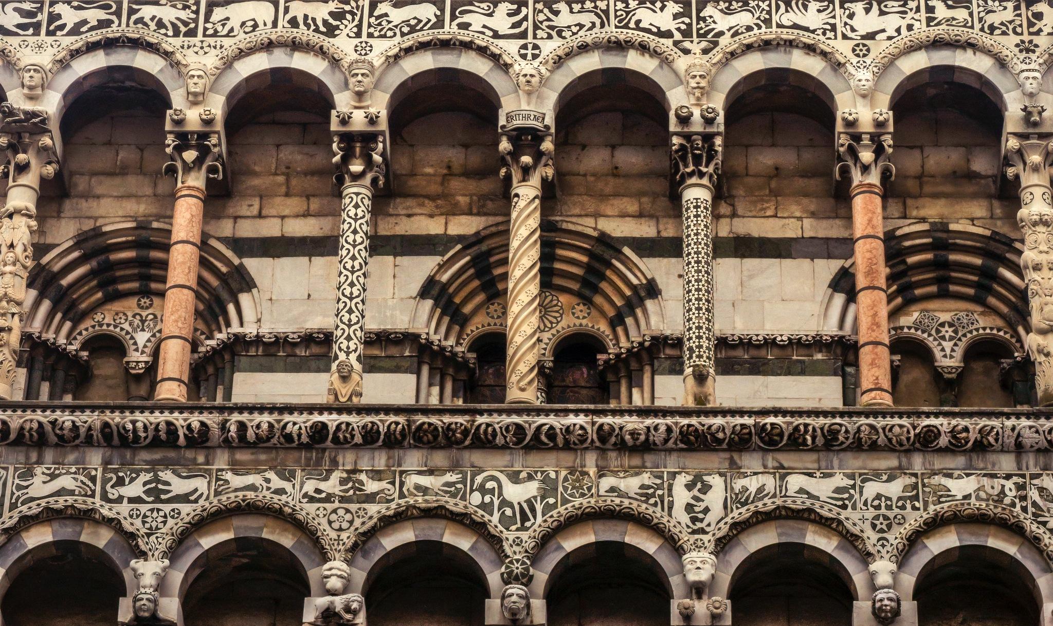Lucca Church - Tuscany - Italian Art by skoxen