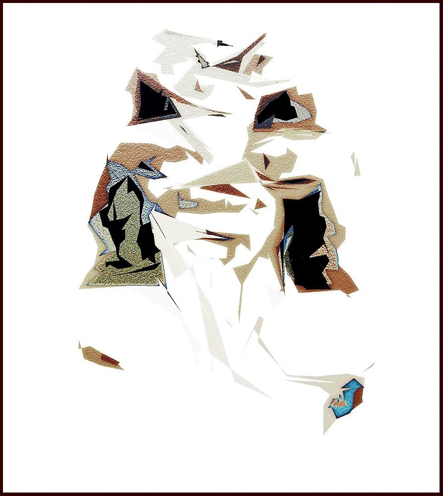 Abstrakt 46 by Barbro von Malmborg