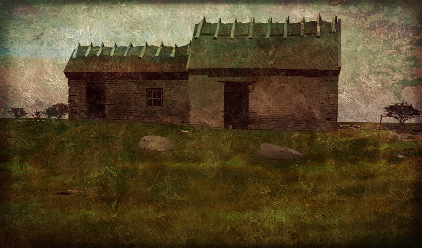 old house  by Annica Josefsson