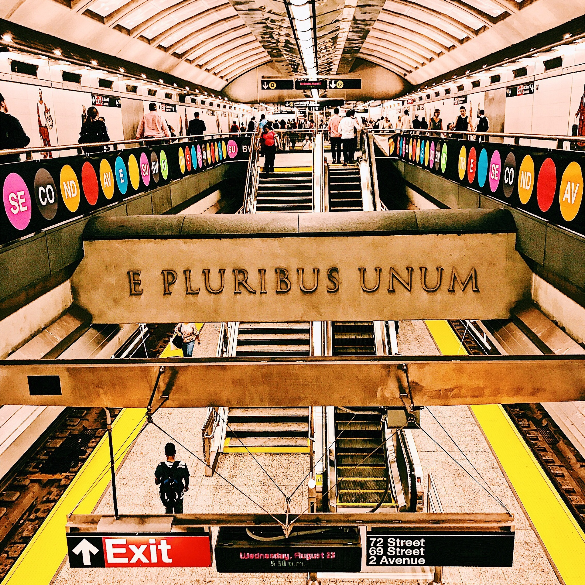 E Pluribus Unum (Out of Many, One) by Cynthia S. Wright