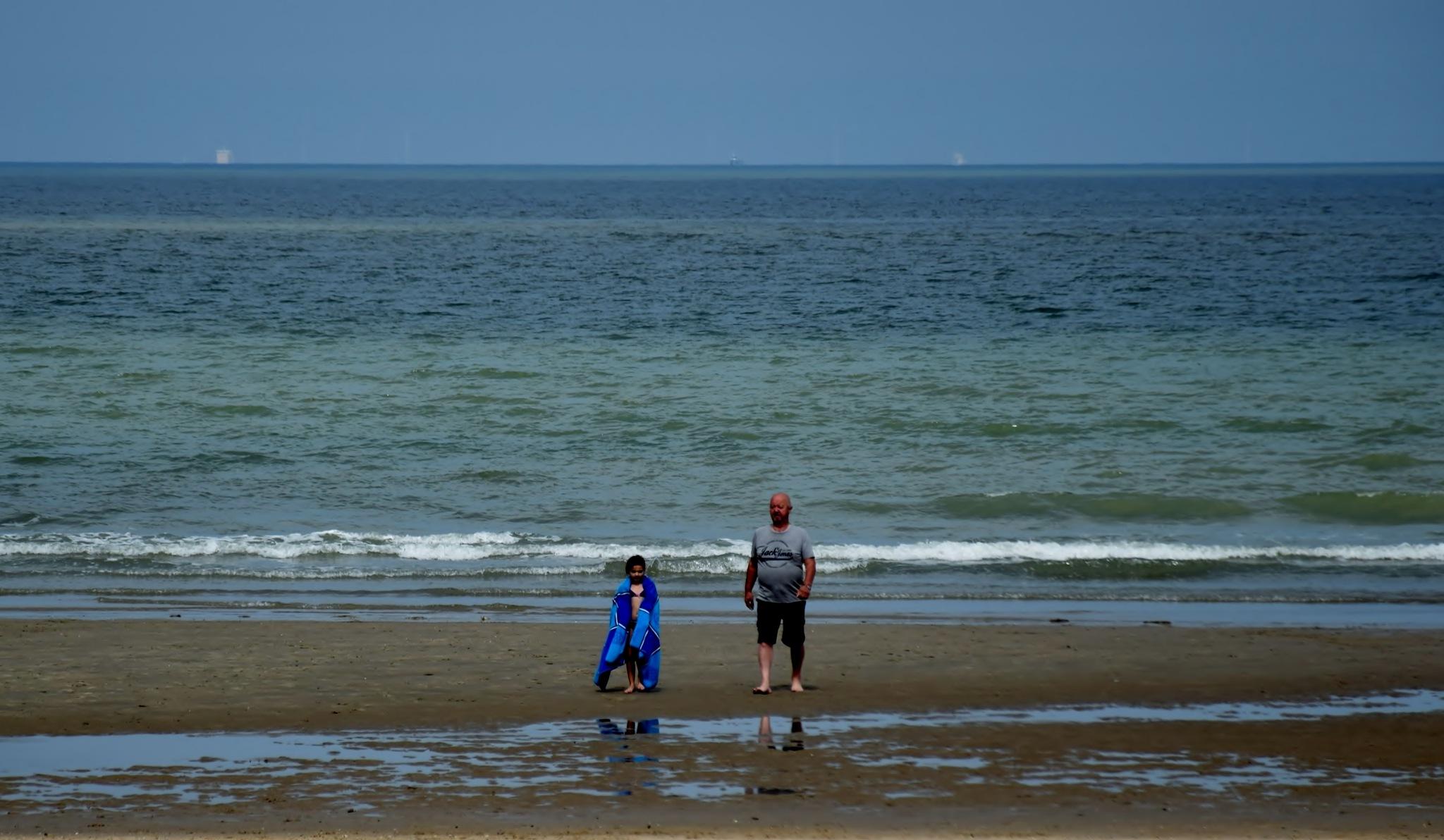 Swimming at the sea #summercontest2017 by Diane Van Daele