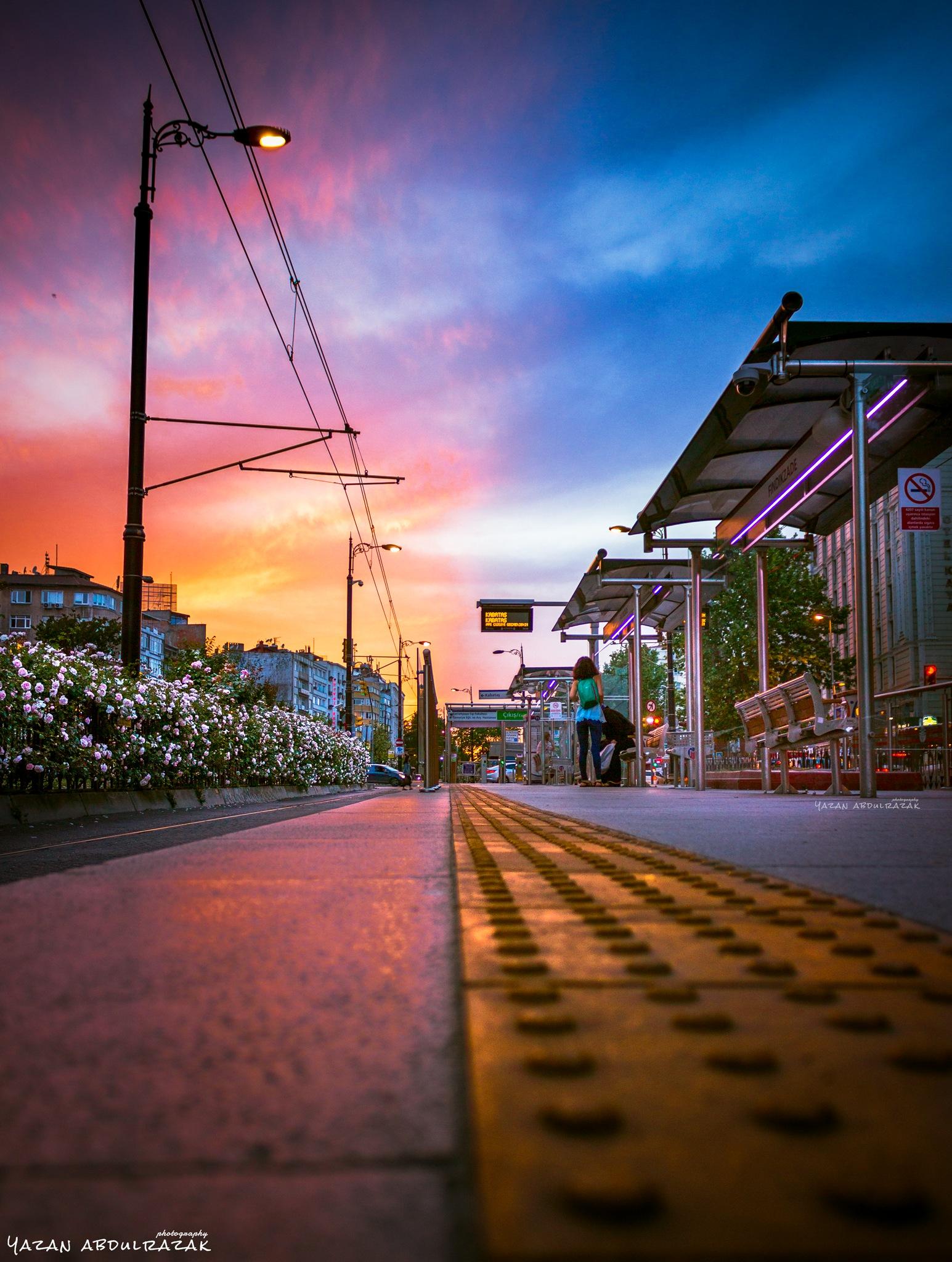 Super sunset  by Yazan Abdulrazak