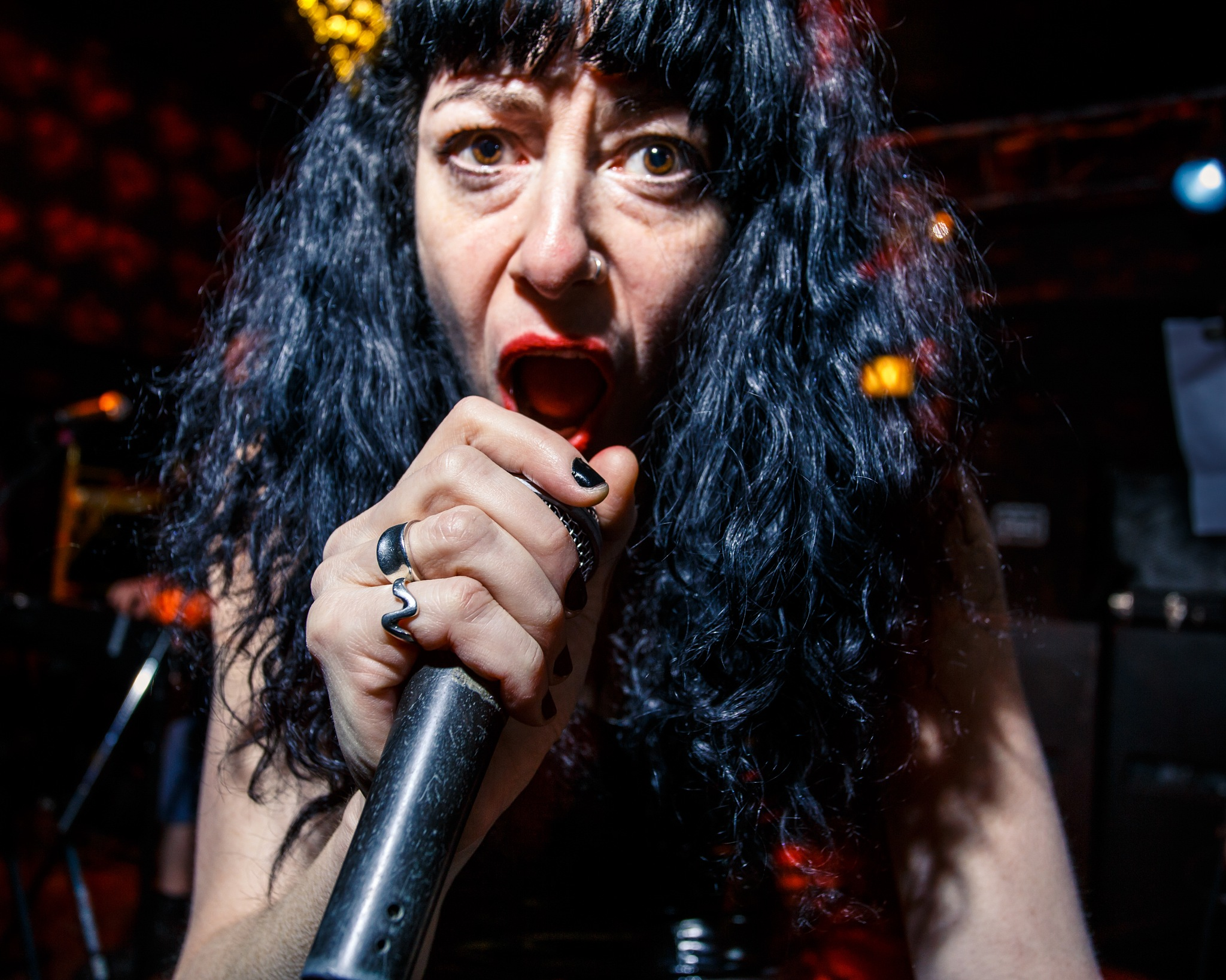 traci weingardt / hotlips messiah / chicago / mar 16 2018 by john mourlas
