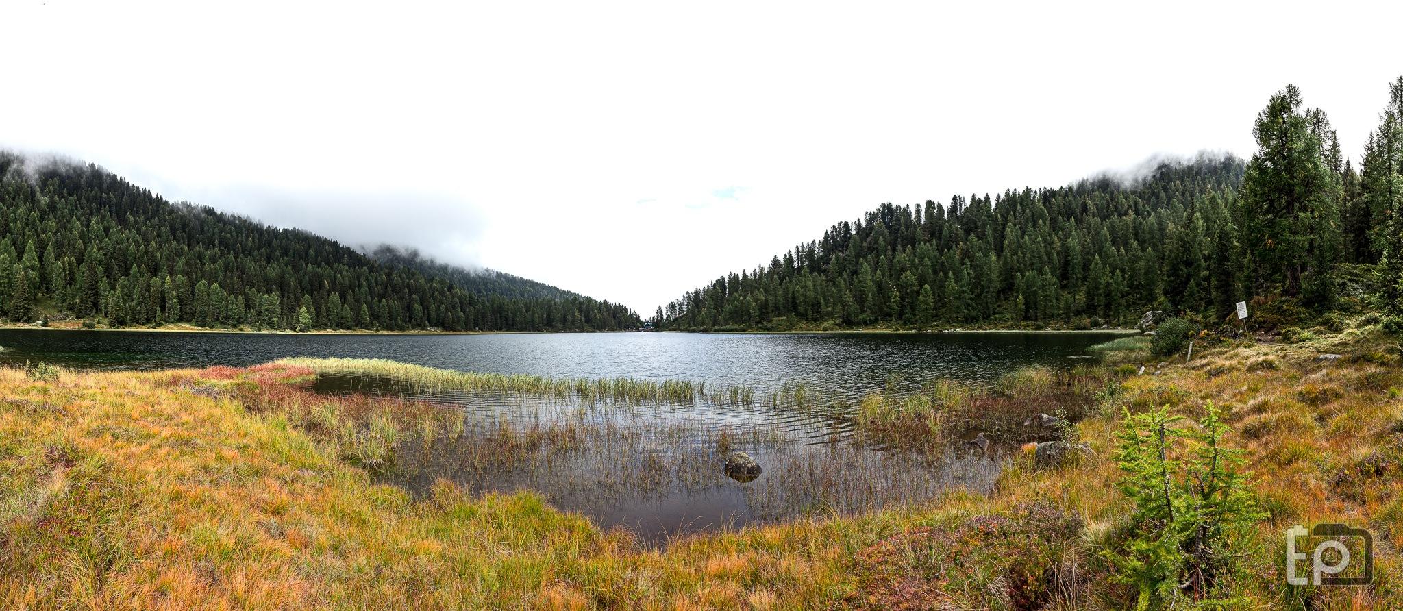 Lago delle malghette - Lake of little mountain cottage - Italy by Enrico Pretto