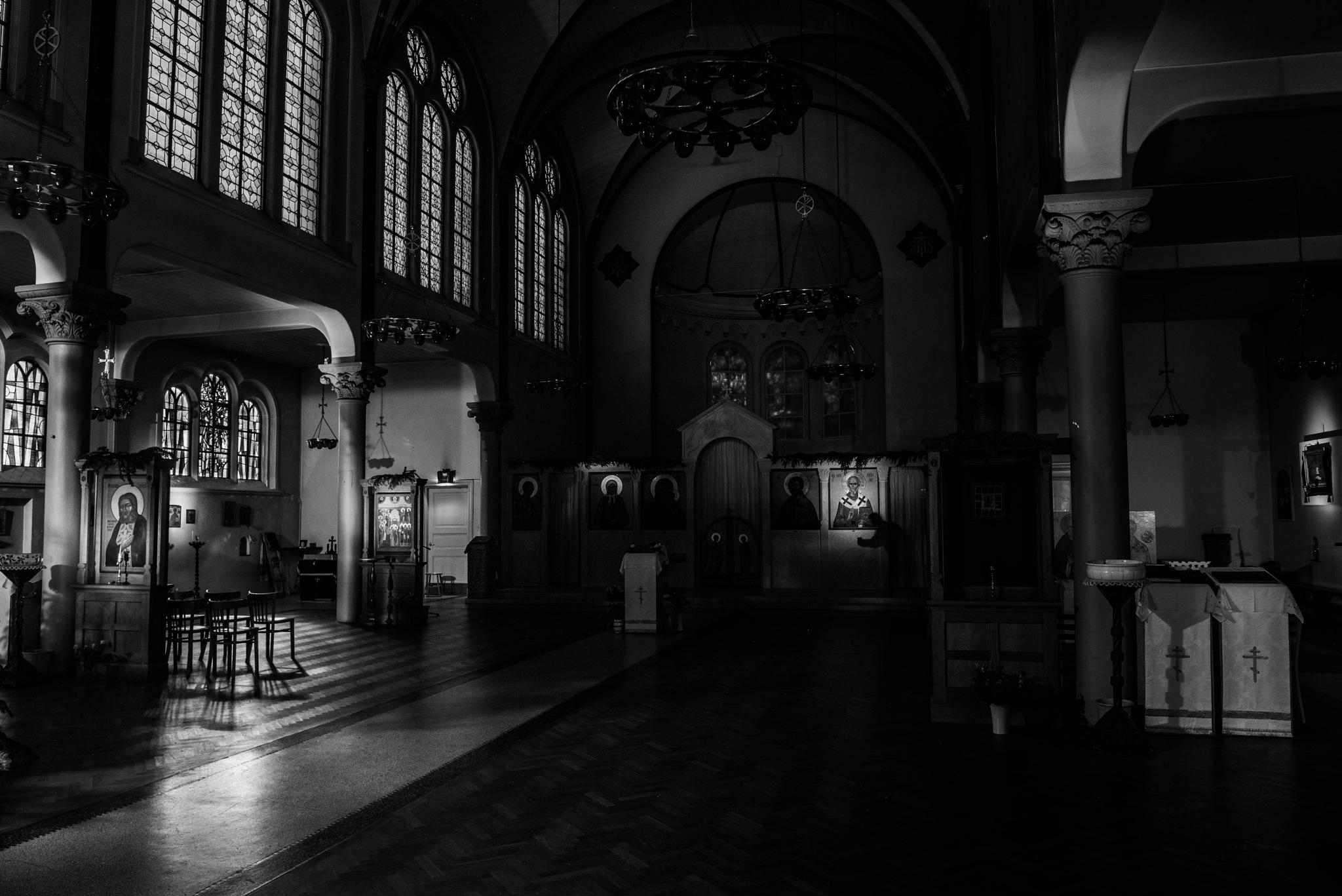 Photo in Black and White #bnwstreetphotography #bnwstreet #nikon #zwartwitfotografie #zwartwit #monochrome #storytellingpictures #apad #art #church #blackandwhitephotography #urbanphotography #amsterdam