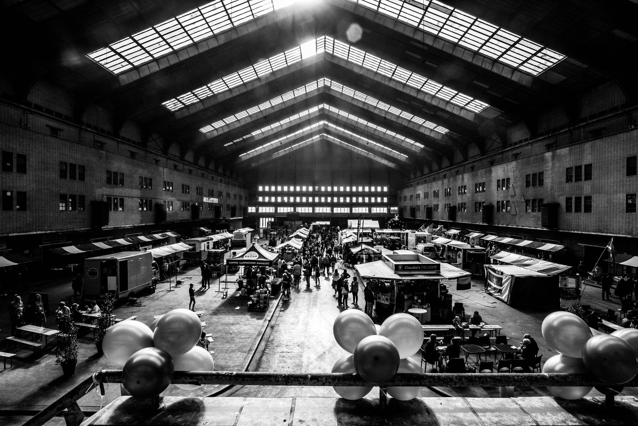 Indoor market by Rob Stegenga