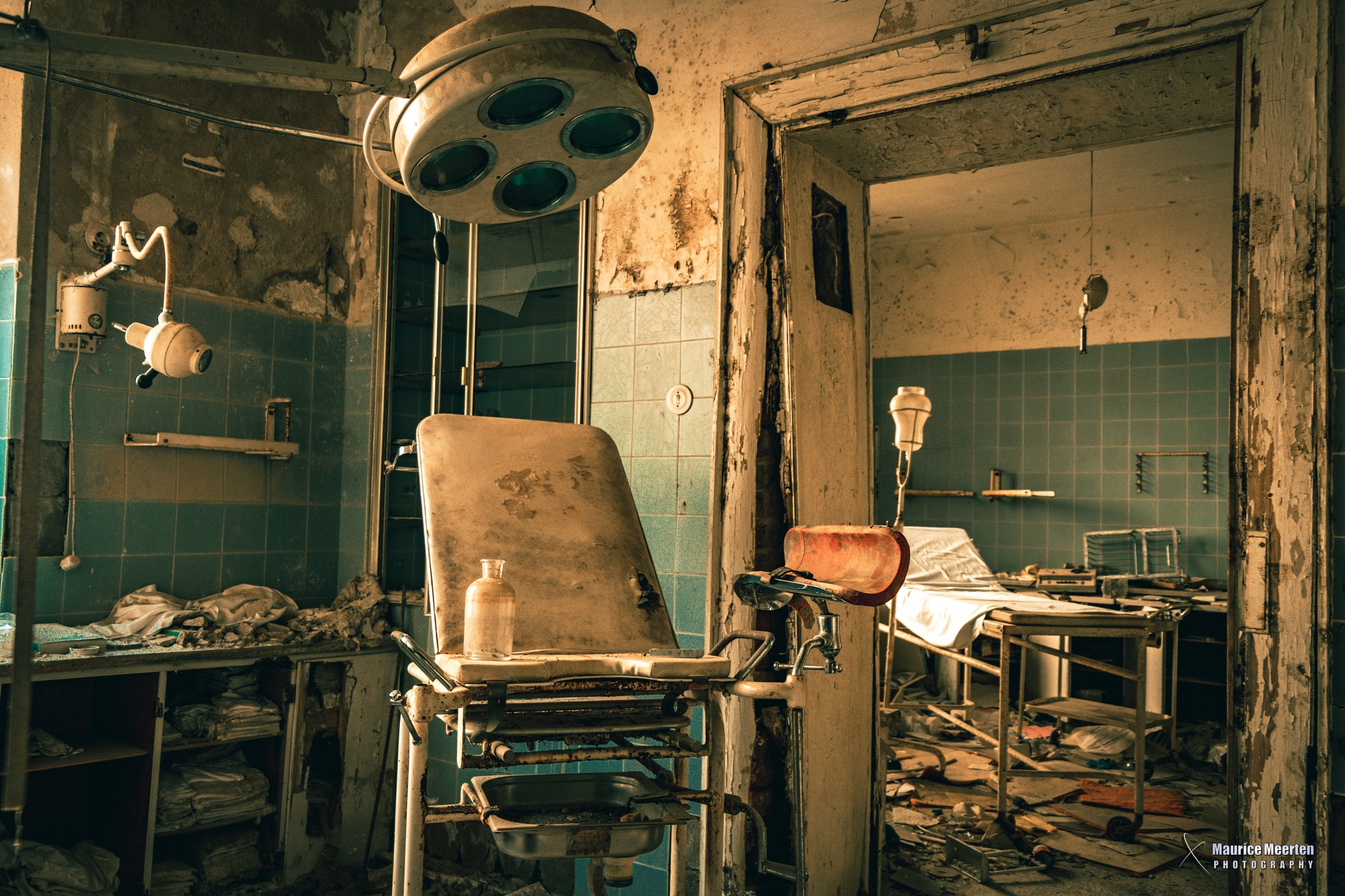 Please take a seat, the doctor will arrive soon.... by Maurice Meerten
