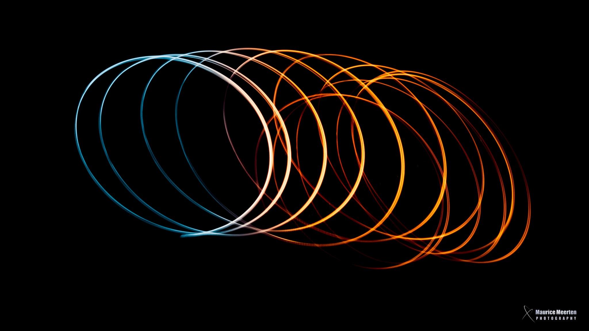 Lightpainting by Maurice Meerten