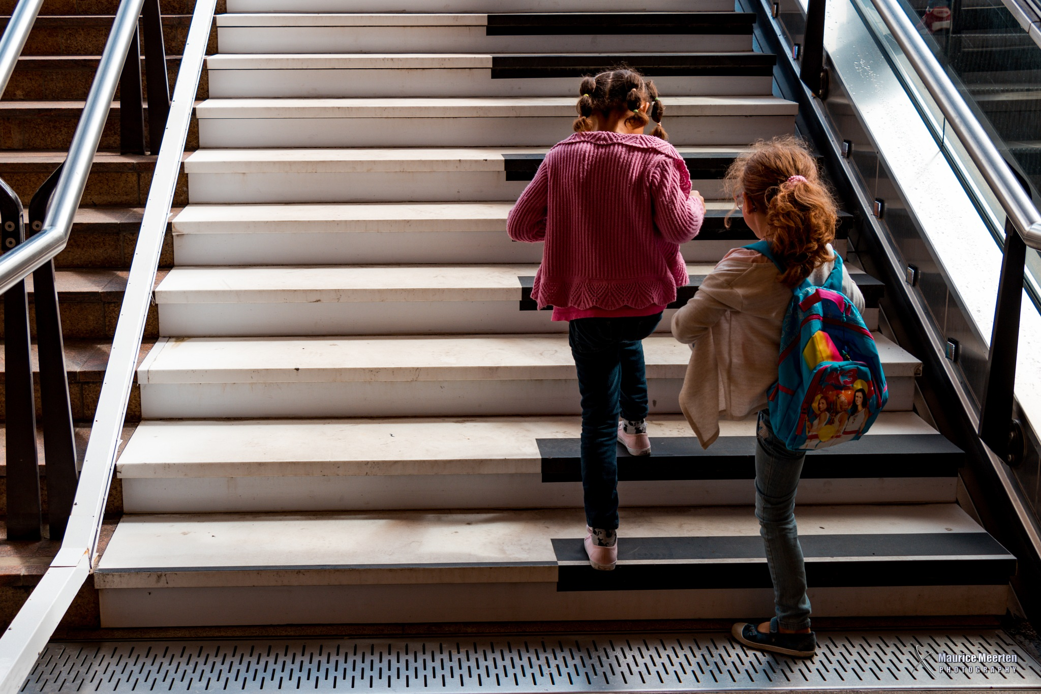 Piano stairs by Maurice Meerten