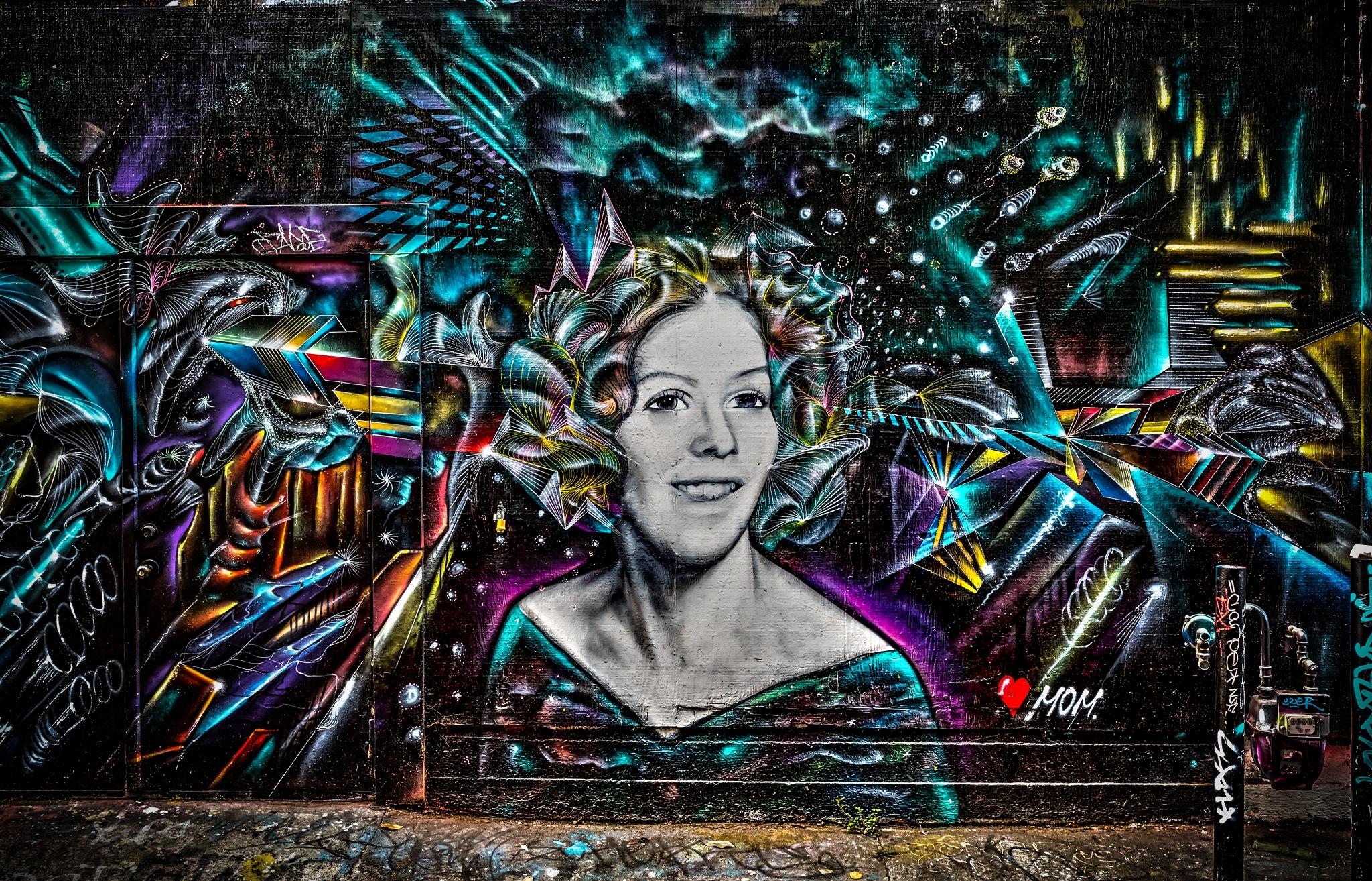 Street art San Francisco by Mahmoud Shokry