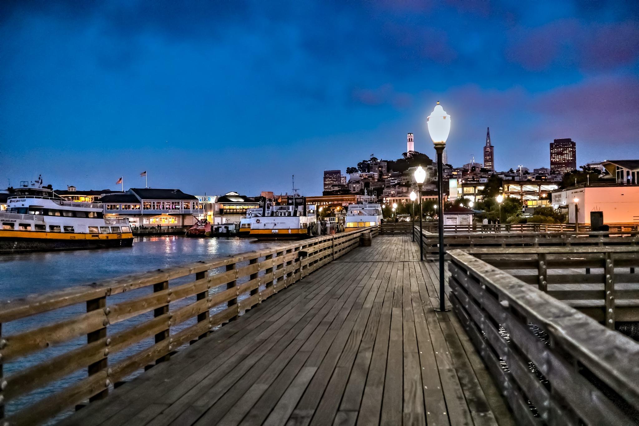 Pier 39 - San Francisco by Mahmoud Shokry