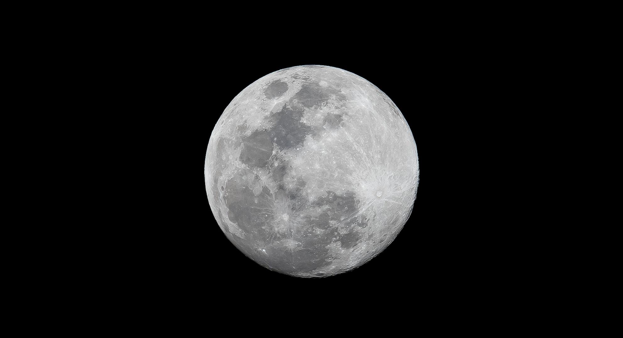 Full Moon by Mahmoud Shokry