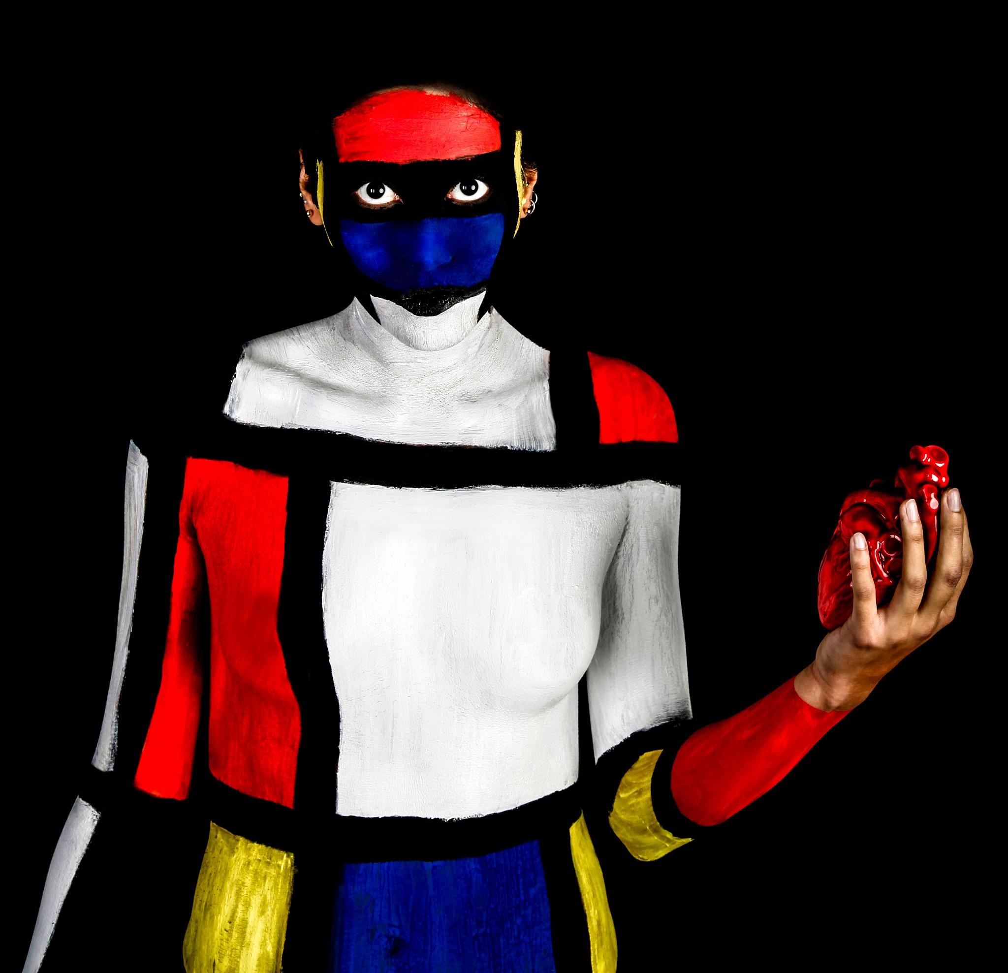 Mondrian Girl by Phsepulveda