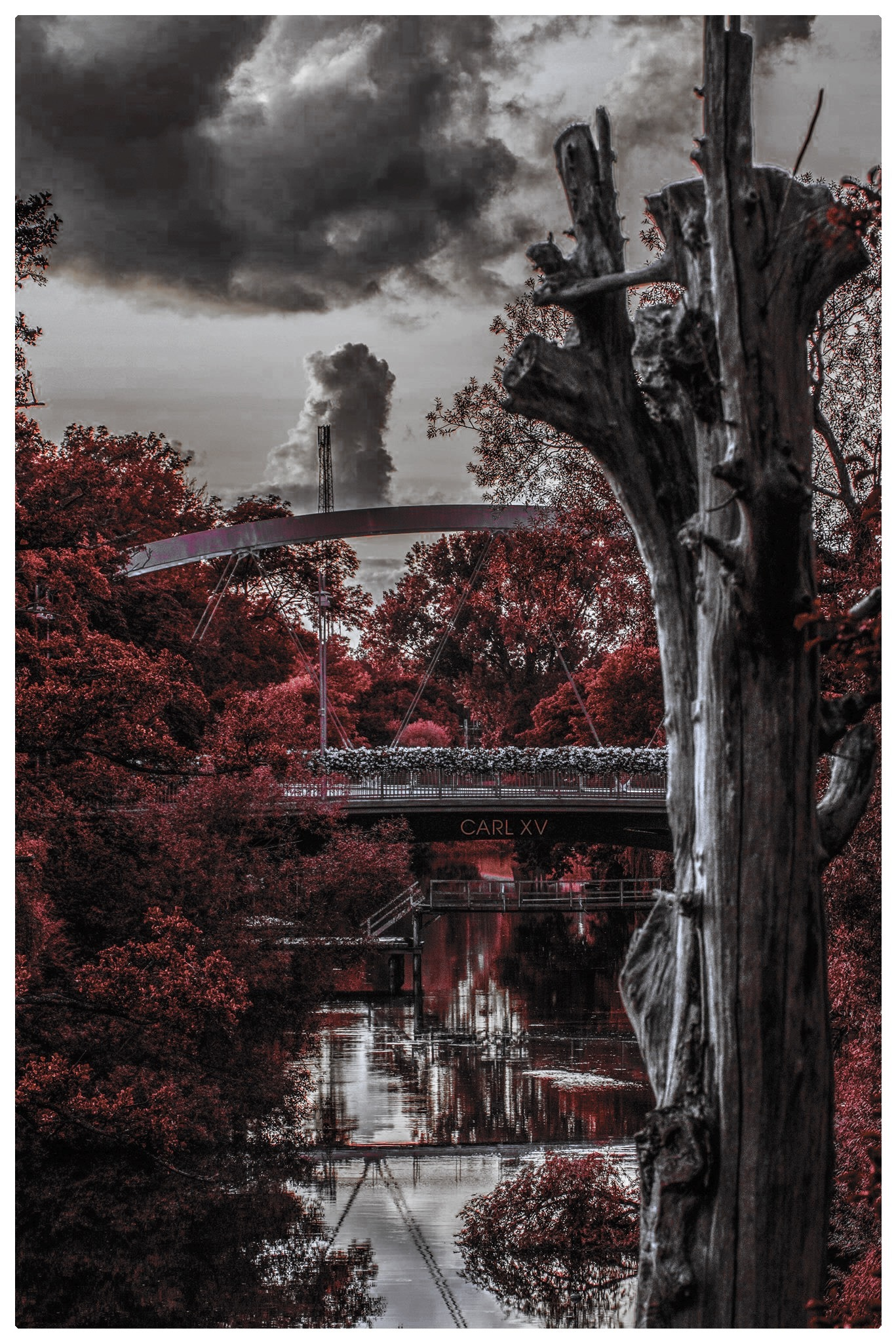 The bridges in Ängelholm by Erik Berrio