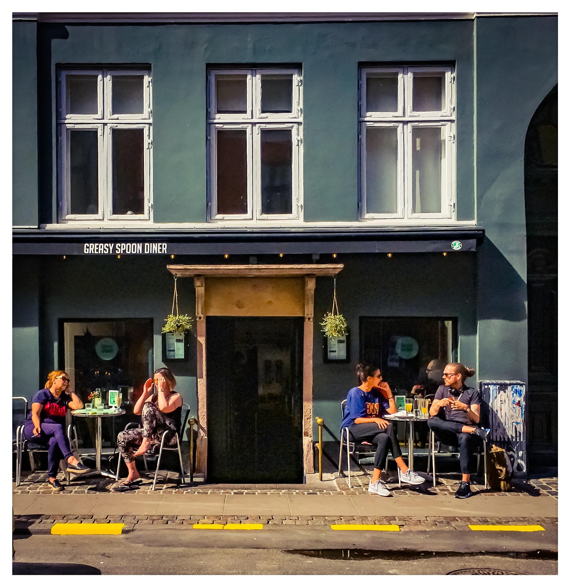 Cafe Denmark by Erik Berrio