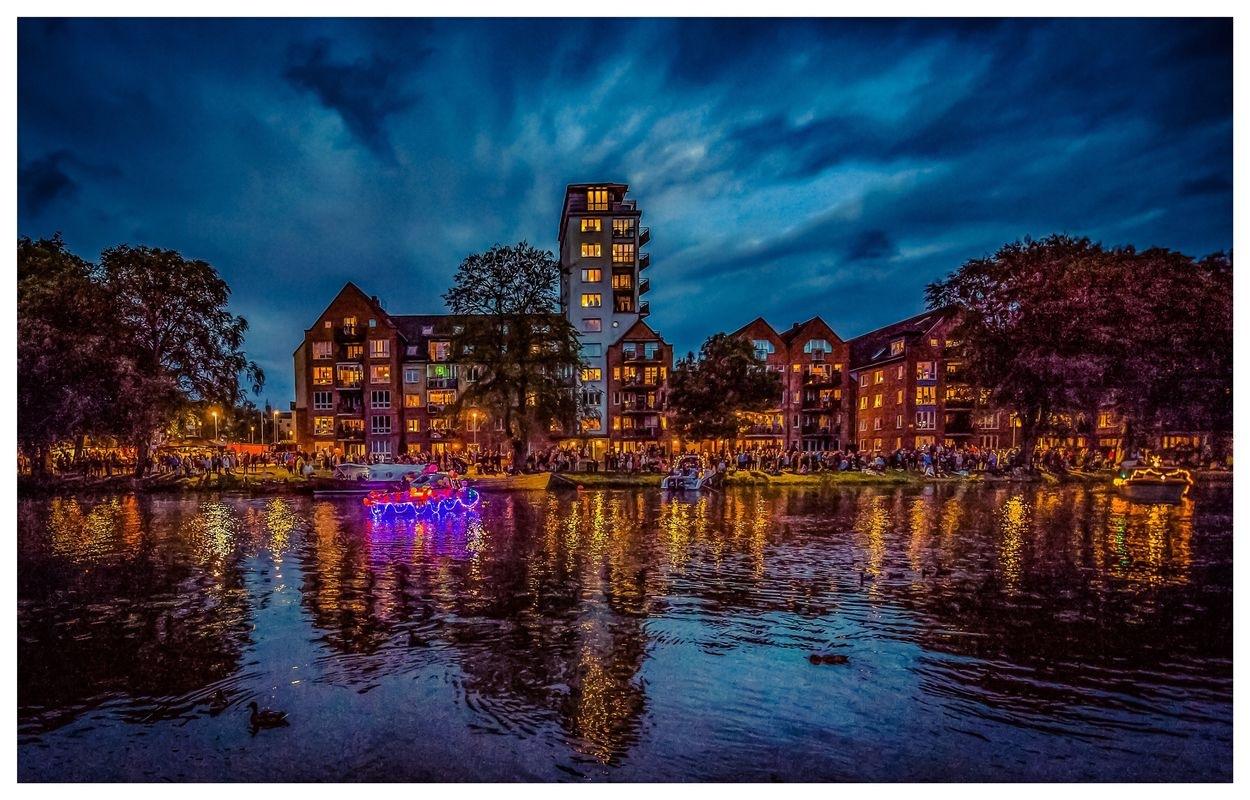 Lightfeast in Ängelholm Sweden by Erik Berrio